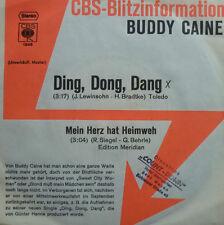 "7"" 1973 CBS-BLITZ ! BUDDY CAINE : Ding Dong Dang /VG++"