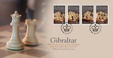 Gibraltar 2012 Schaken chess schach  FDC    postfris/MNH