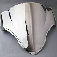 For SUZUKI GSX1300R GSXR1300 Hayabusa 99-07 Chrome Windscreen Windshield Screen