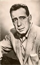 CARTE POSTALE PHOTO CELEBRITE ACTEUR HUMPHREY BOGART