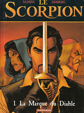 Scorpion 1. La marque du diable. MARINI 2000. Etat neuf