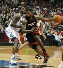 LEBRON JAMES MIAMI HEAT SCOTTIE PIPPEN NBA BASKETBALL GLOSSY PHOTO 8x10 picture