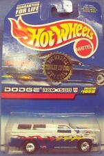 Hot Wheels Trailer Edition Dodge Ram 1500 Blue & White 1/64 scale
