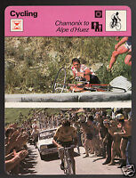 BERNARD THEVENET & L. VAN IMPE Chamonix to Alpe Cycling SPORTSCASTER CARD 36-05B