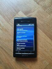 Sony Ericsson Xperia X8 E15a - Black (Unlocked) Smartphone
