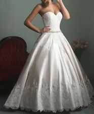 New! ALLURE BRIDAL 9165 10 CAFE IVORY SILVER Now just $359 was $1898 80% OFF