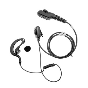 HYTERA/HYT Multi-Pin G Shape Security Earpiece With PTT MIC For PD700 PD700G