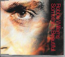 ROBBIE WILLIAMS - Something beautiful CD SINGLE 2TR EU release 2003 (Chrysalis)