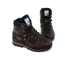 Boots Landrover Stiefeletten Schnürer Outdoor Echtleder Textil braun Gr. 37