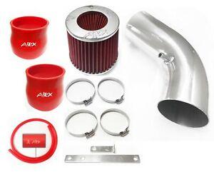 AirX Racing Red For 2003-2008 Hyundai Tiburon 2.7L V6 GT SE  Air Intake Kit