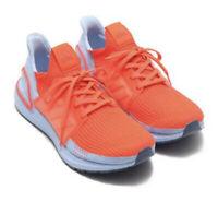 Adidas UltraBOOST 19 Solar Red Orange Boost Runner UK 9 Gym Uncaged Consortium