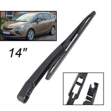Rear Windscreen Wiper Arm Blade Set For Vauxhall Opel Zafira C Tourer 2011-2019