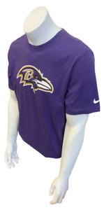 Nike Men's Baltimore Ravens Joe Flacco #5 Purple NFL Football Shirt Size Large