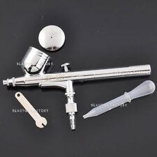 DOPPIA Azione Aerografo 0,3 mm Needle Gravity Air Brush PISTOLA A SPRUZZO VERNICE ART KIT # 80