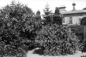 Gpo-49 Muchall Grove, House & Garden, Penn nr Wolverhampton. Photo