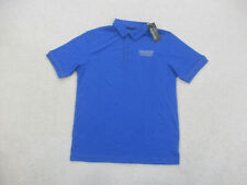 NEW Hendrick Polo Shirt Adult Small Blue Lightweight Nascar Rugby Mens