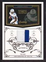 2010 National Treasures Century Materials Patch #62 Joseph Addai 25/50 Colts