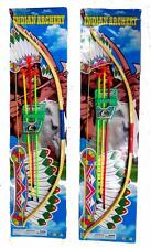 2 NEW XLARGE BOW with COLORED ARROWS SET new suction cup KIDS toy play archery