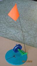 Ice Fishing Rod Tip-Up Ice Fishing Pole Cover Orange Flag w/tackle  from Ukraine