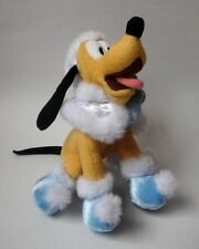 "Pluto Plush 8"" Dreaming of a Disney Holiday 2007 Winter"