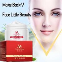 40g V-Shape Face Line Lift Firming Collagen Cream Double Chin Cheek Slimmin F4H2