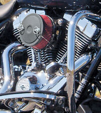 S&S BLACK JACK MUSCLE COVER FOR STEALTH AIR CLEANER KITS HARLEY 170-0125