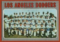 1970 Topps #411 Los Angeles Dodgers Team EX-EXMINT+ Stain Sutton Garvey FREE S/H