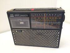 ITT Golf Schaub Lorenz Cassettenrecorder Kofferradio Radio 4-Band