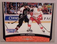 1999 Upper Deck Starting Lineup #333 Eric Lindros Flyers Hockey Card