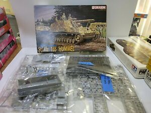"Dragon 6004 Sd.Kfz. 165 ""Hummel"" German armored vehicle plastic kit, 1/35, ob"
