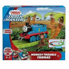 THOMAS TRAIN & FRIENDS TRACK MASTER MONKEY TROUBLE 9-PC SET Metal Engine NEW!