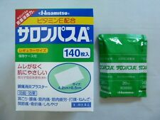 SALONPAS PAIN RELIEVING PATCHES -4 Pack 80 patches Expiry 05/2021 Japan