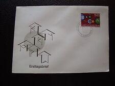 LIECHTENSTEIN - enveloppe 1er jour 3/10/1961 (cy97)