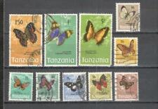 S8826 - TANZANIA 1973 - LOTTO DALLA SERIE FARFALLE - VEDI FOTO