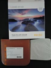 NiSi 100x100mm Nano IR ND64 nd1.8 Neutral Density Square filter