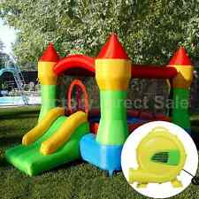 Kids Bounce House With Blower Heavy Duty Castle Inflatable Jumper Slide New