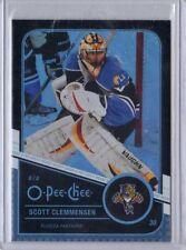Scott Clemmensen Florida Panthers 11/12 O-Pee-Chee Black Rainbow /100 #139