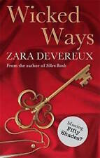 ZARA DEVEREUX __ WICKED WAYS __ EROTIC  __ BRAND NEW __ FREEPOST UK