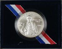 2004 Thomas Alva Edison Commemorative UNC Silver Dollar $1 Coin as Issued