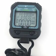 Professional Sports 3 Row Display 30 split Memory Handheld Stopwatch Timer