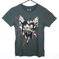 Iron Fist Womens Size L T-Shirt Grey