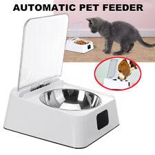 Pet Stainless Steel Bowl Infra-Red Sensor Automatic Feeder Dispenser Smart