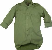 General Service Army Shirt OG Olive Green GS Military British Long Sleeve