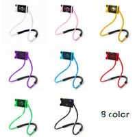 Universal Neck Cell Phone Holder Lazy Bracket hand-free Universal phone US Stock