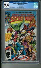 Marvel Super Heroes Secret Wars #1 2nd Printing, CGC 9.4 1st Beyonder MCU