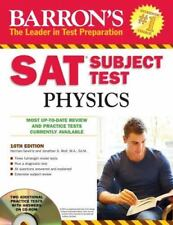 Barron's SAT Subject Test Physics by Herman Gerwitz and Jonathan S. Wolf M.A....