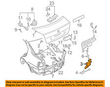 VW VOLKSWAGEN OEM 1J5827505J01C 99-01 Jetta Trunk Lock 1J5-827-505-J-01C