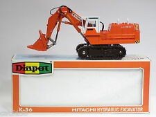 "Hitachi UH801 Shovel - ""WHITE CAB"" - 1/60 - Diapet K-56 - MIB"