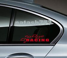 Racing Sport Performance Car Truck SUV Window Vinyl Decal sticker emblem Logo R