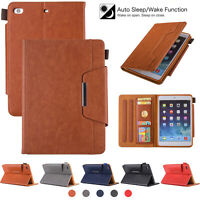 Smart Leather Case For iPad 9.7 6th Generation 2018/5th Gen 2017 Magnetic Stand